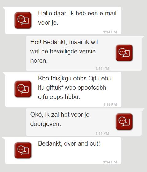 Versleutelde communicatie tussen mailservers