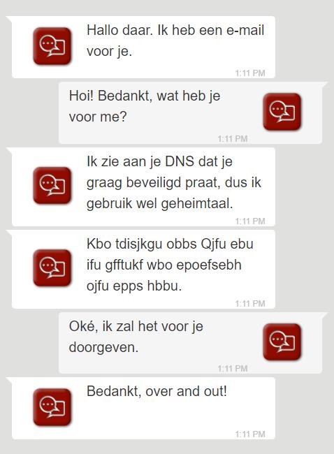 Met DANE beveiligde versleutelde communicatie tussen mailservers