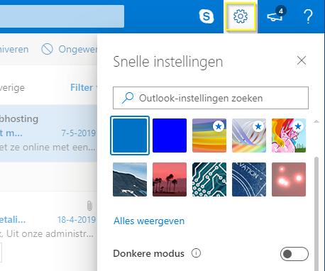 Outlook.com - Veilige afzenders - Instellingen
